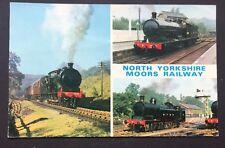 POSTCARD North Yorkshire Moors Railway STEAM TRAINS Grosmont Goathland 1479