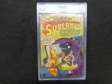 CGC 4.0 Superman #113 1957 FREE SHIPPING