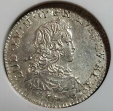 FRENCH COLONIES 1/6 ECU 1720A NGC AU 55