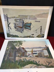 Otis Pierce Cook Prints (Vintage)