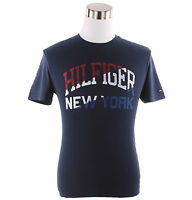 Tommy Hilfiger Men's Short Sleeve Crew-Neck Logo Tee T-Shirt - $0 Free Ship