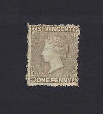 St Vincent 1880-1 1d drab SG 37 MM
