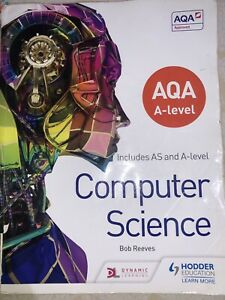 AQA A level Computer Science by Bob Reeves (Paperback, 2015)