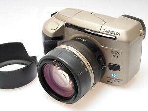 Minolta Vectis S-1 APS Film Camera + 22-80mm Zoom Lens