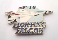 F-16 FIGHTING FALCON US AIR FORCE Military Hat Pin P61660 EE