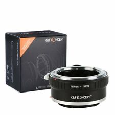 k&f Nikon A Sony E Objetivo Soporte Adaptador con Trípode para kf06.286