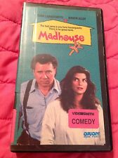 MADHOUSE VHS RARE OOP 1990 COMEDY MOVIE JOHN LARROQUETTE KIRSTIE ALLEY