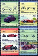 FIAT collection de 8 Timbres Voiture (Auto 100 / leaders du monde)