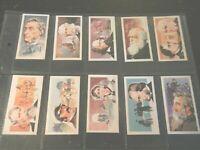 Brooke Bond Tea FAMOUS PEOPLE Churchill , Chaplin, Scott Trading set  50 cards