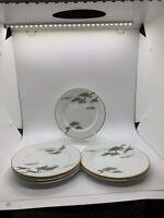 Vintage Noritake Nippon Toki  Kaisha Bread Plates 6in Set Of 6 Circa Mid 1900´s
