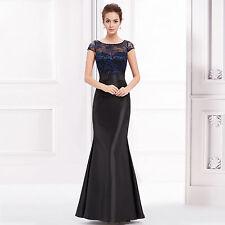 Women's Scoop Neck Cap Sleeve Full Length Polyester Dresses
