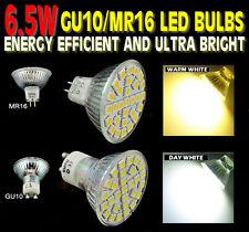Multi Packs gu10/mr16 Led Smd 5050 6,5 w 220v Spot Luz bombillas warm/day Blanco