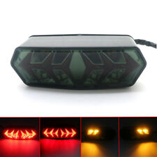 New Smoke LED Tail Brake Turn Signal Light For Honda Grom MSX 125 CBR650F CTX700