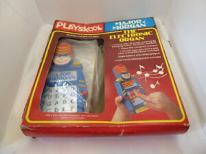 Vintage Major Morgan The Electronic Organ Toy Playskool Tested Working IOB