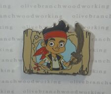 2011 Disney Channel Junior JAKE AND THE NEVERLAND PIRATES TV Show Booster Pin