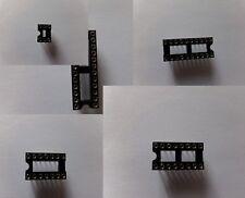 Support circuit intégré Tulipe de précision 6 à 24 broches