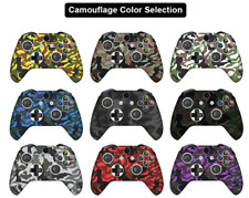Silicon rubber camo case skin grip cover for game pad Xbox One X S controller