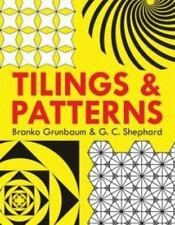 Dover Books on Mathematics: Tilings and Patterns by Branko Grunbaum and G. C....