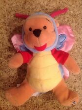 New Retired Disney Store 2000 Easter Butterfly Pooh 8-inch Mini Bean Bag Plush