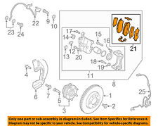 HYUNDAI OEM 16-17 Tucson Brake-Front Pads 58101D7A10