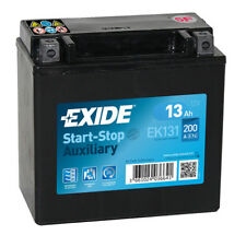 EK131 Exide Stop Start Auxiliary Battery13AH 200CCA A2115410001 4 YEAR GUARANTEE