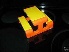 Little Tikes Dollhouse Doll Size Orange & Yellow Picnic Table Toy Cottage Piece