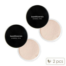 2 PCS bareMinerals Mineral Veil 9g Makeup Face Translucent Soft Powder #8650_2