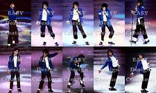 Michael Jackson 10 Photos 4x6 The Way You Make Me Feel Bad Tour Live Rare 10x15