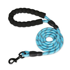 5 Ft Dog Leash Heavy-duty Reflective Rope for Large Medium Dogs Training Walking