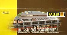 Faller 180659 H0 - Bahnsteigbeleuchtung LED ( Ersatz für 120183 ) NEU & OvP