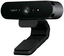 NEW Logitech Brio 4K Ultra HD Stream Pro Webcam 960-001106 Streamcam FAST DEL!