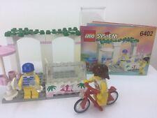 LEGO SYSTEM 6402 Paradisa STRADA CAFE con istruzioni