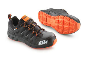 New KTM Mechanics Shoes Black/Orange Size 43