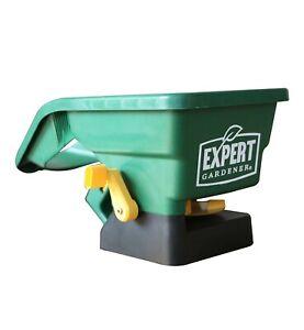 EXPERT GARDENER HAND HELD SEED / ICE MELT / SALT / FERT. SPREADER, NEW WITH TAGS