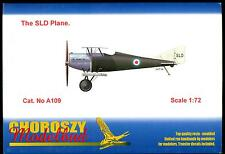 Choroszy Models 1/72 THE SLD PLANE Prototype Italian WWI Fighter