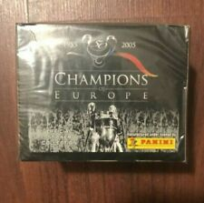 Panini Champions of Europe 1955-2005 box 50 packs 250 stickers Messi rookie PSA?