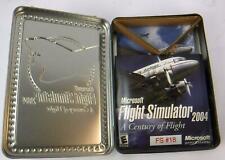 Microsoft Flight Simulator 2004 : A Century of Flight (PC) 4 Disc Set Metal Case