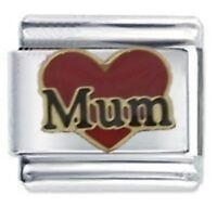 Mum Heart - Family - Daisy Charm Fits Nomination Classic Italian Charm