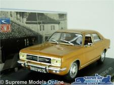 SIMCA CHRYSLER 160 MODEL CAR 1:43 SCALE 1972 TALBOT GOLD SALOON IXO K8