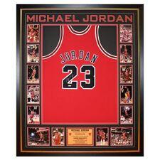 Hand Signed Michael Jordan Bulls Authentic Framed Jersey