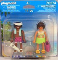 Playmobil Blister 70274 Duo-Pack Urlauber-Paar Zeitung Tasche Sonnencreme NEU