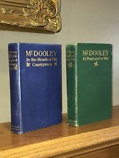 Lot of 2 Vintage 1890's Mr. Dooley Books – 1st Edition Dunne's Humorous Sketches