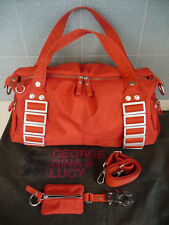 GEORGE GINA & LUCY Small Duffle With Crossbody Strap, Keychain Pouch, Dust Bag