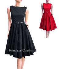 Formal Sleeveless Dresses for Women's 1950s