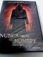 """DVD """"NUNCA DIGAS SU NOMBRE (BYE BYE MAN)"""" PRECINTADO SEALED STACY TITLE"""