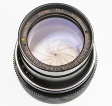 Bausch-Lomb Baltar 100mm f2.3 Nikon SLR mount  #UF580