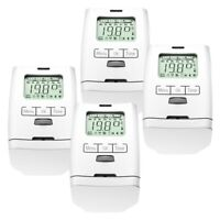 4 Stück Elektronischer Heizkörperthermostat Thermostat Thermostatventil HT 2000