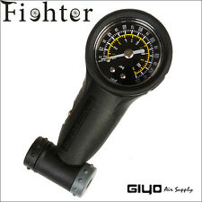 160psi Bike Bicycle Tyre Air Pressure Guage for MTB/road bicycle with twin Valve