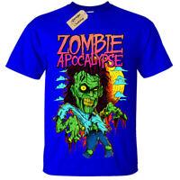 Kids Boys Girls Zombie Apocalypse Lion T-Shirt
