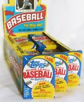 Lot of 3 - 1986 TOPPS UNOPENED Basesball Wax Packs Ripken, Clemens, Puckett Etc